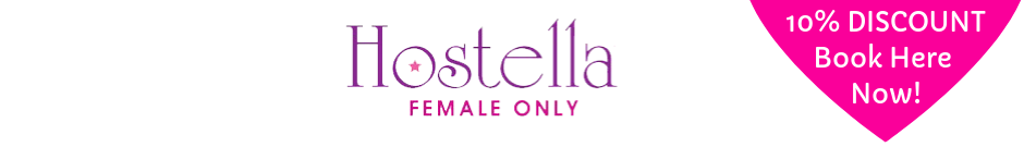 Hostella (logo) + 10% Discount click here and book now